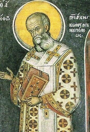 Ἀπὸ τὸ Ἁγιολόγιο τοῦ μηνός: Ἅγιος Νήφων Πατριάρχης Κωνσταντινουπόλεως, 11 Αὐγούστου