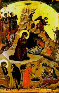 Nativity.  Theophanes the Cretan, 16th Century